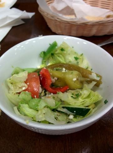 Salad at Peace on Braker and Lamar.