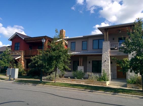Chic, modern houses