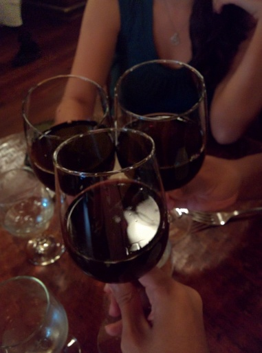 Three different red wines. Can't you tell?