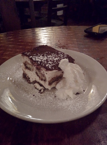 Tiramisu. Why would you order anything else?